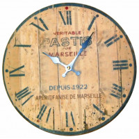 """Horloge """" Pastis de Marseille """""""