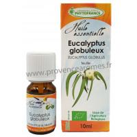 EUCALYPTUS GLOBULUS Huile Essentielle BIO Phytofrance
