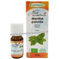 MENTHE POIVRÉE Huile Essentielle BIO Phytofrance 10 ml