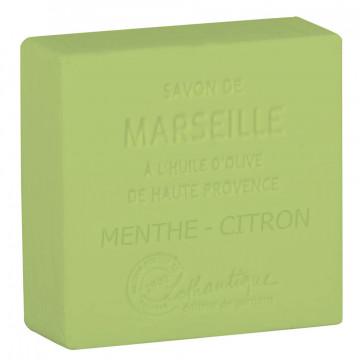Savon de Marseille Menthe Citron Lothantique