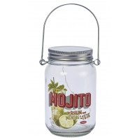 Lampe Led Mason Jar MOJITO Natives déco rétro vintage