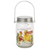 Lampe Led Mason Jar JARDINIER Natives déco rétro vintage