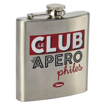 Flasque LE CLUB DES APÉROPHILES Natives déco rétro vintage