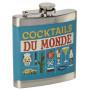 Flasque-COCKTAILS-DU-MONDE-Natives-déco-rétro-vintage