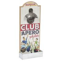 Décapsuleur mural LE CLUB DES APÉROPHILES Natives déco rétro vintage