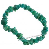 Bracelet en Amazonite pierre naturelle bracelet baroque pierres brutes