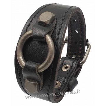 bracelet cuir boucle