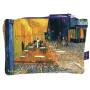Pochette coton TERRASSE DU CAFÉ LE SOIR Vincent Van Gogh 1889