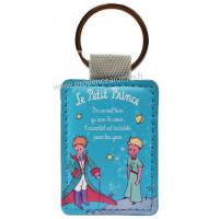 Porte-clés bleu ciel LE PETIT PRINCE Cape et épée