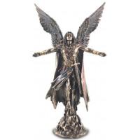 Statuette ARCHANGE URIEL 28 cm effet bronze