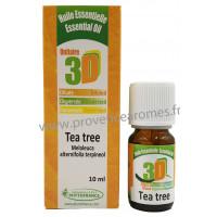HUILE ESSENTIELLE de TEA TREE 3D Bactéries, Mycoses, Parasites, Tonique, Veines, Immunité Phytofrance