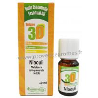 HUILE ESSENTIELLE de NIAOULI 3D Virus, Mycoses, Parasites, App respiratoire, Circulatoire Phytofrance