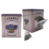 Lavande tisane de Provence Boîte distributrice déco rétro Esprit Provence