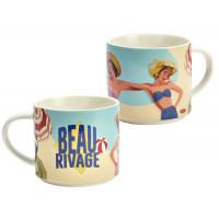 Mug BEAU RIVAGE Natives déco rétro vintage