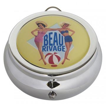 Cendrier de poche BEAU RIVAGE Natives déco rétro vintage
