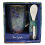 Mug avec cuillère LES IRIS Vincent Van Gogh