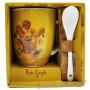 Mug avec cuillère LES TOURNESOLS Vincent Van Gogh