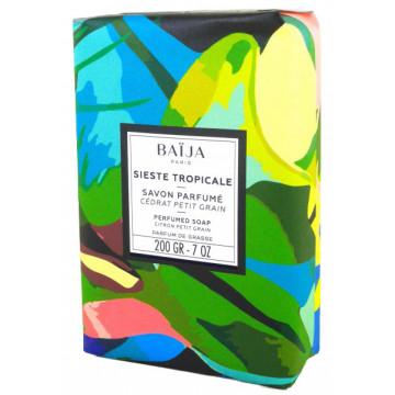 Savon 200 gr Cédrat Petit Grain Baïja Sieste Tropicale collection