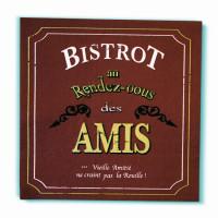 """Serviette papier déco """" Bistrot des Amis"""""""