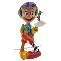 PINOCCHIO et JIMINY CRICKET Figurine Disney Collection Disney Britto