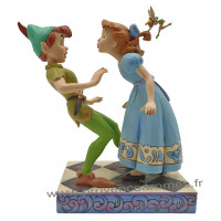 WENDY et PETER PAN Figurine Collection Disney Tradition