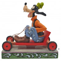 DINGO Figurine LIFE IN THE SLOW LANE Collection Disney Tradition
