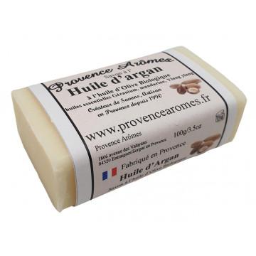 Savon à l'Huile d' Argan et à l'huile d'olive Bio Provence Arômes