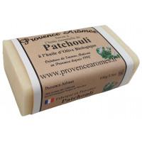 Savon à l'huile essentielle de Patchouli et Huile d'olive Bio de Provence Arômes