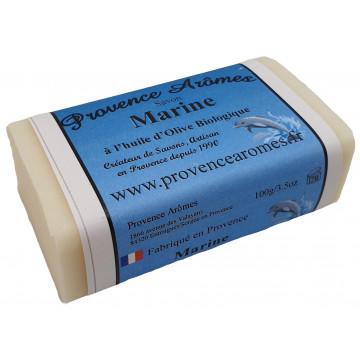 savon marine à l'huile d'olive Bio de Provence Arômes