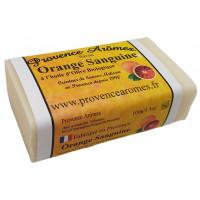 Savon à l'Orange Sanguine à l'huile d'olive Bio de Provence Arômes