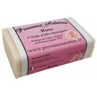 Savon à l'huile d'olive Bio à la ROSE de Provence Arômes