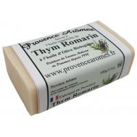 Savon Thym Romarin à l'huile d'olive bio de Provence Arômes