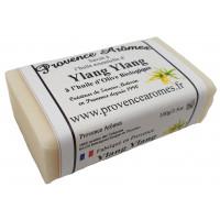 Savon Huile essentielle d'Ylang Ylang et huile d'olive Bio de Provence Arômes