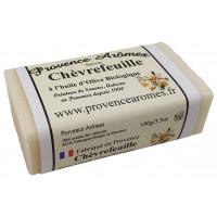 Savon Chèvrefeuille à l'huile d'olive Bio de Provence Arômes