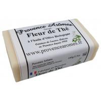 Savon Fleur de Thé à l'huile d'olive Bio de Provence Arômes