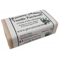 Savon Vanille Patchouli à l'huile d'olive Bio de Provence Arômes