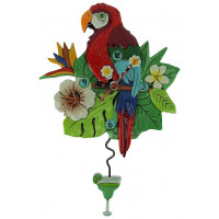 Horloge Perroquet à balancier Allen designs