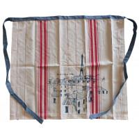 Tablier Bistrot coton/lin BATIGNOLLES Comptoir de Famille