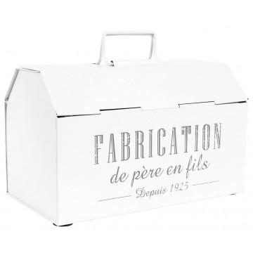 Boîte métal FABRICATION DE PÈRE EN FILS Comptoir de Famille
