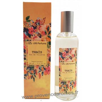 Eau de Toilette THAÏS Floral boisé poudré LBS Parfum