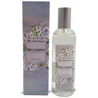 Eau de Toilette MELISANDE poudré frais gourmand LBS Parfum