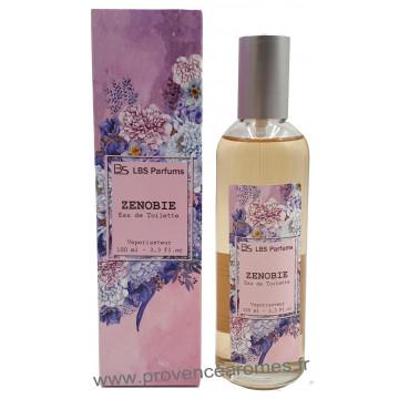 Eau de Toilette ZENOBIE pomme d'amour vanillé boisé LBS Parfum