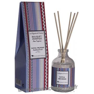 Parfum à bâtons SANTAL ORCHIDÉE 50 ml Provence et Nature
