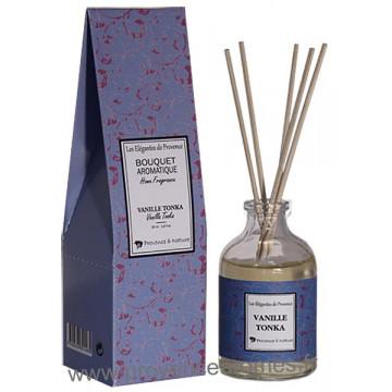 Parfum à bâtons VANILLE TONKA 50 ml Provence et Nature