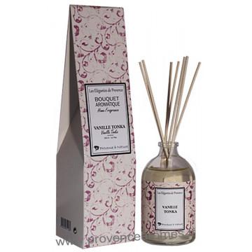 Parfum à bâtons VANILLE TONKA 100 ml Provence et Nature