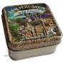 Boîte carrée Mon petit Savon au Lait d'ânesse sur les sentiers de Corse et son savon au Lait d'ânesse
