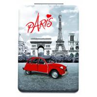 Miroir de poche PARIS 2 CV (deux chevaux)