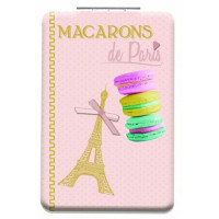 Miroir de poche MACARONS DE PARIS