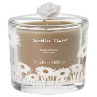 Bougie parfumée JARDIN BLANC Amélie et Mélanie Lothantique