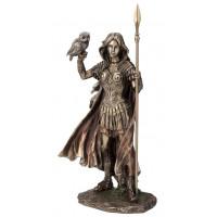 Statuette ATHENA 30 cm effet bronze